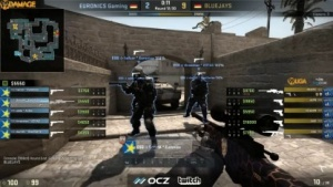 Counter-Strike bei Turnier