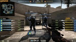Counter-Strike bei Turnier