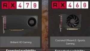 Radeon RX 470 und RX 460