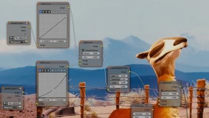 Der Node-Editor aus Blender könnte von einem Gegl-Port profitieren.