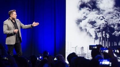 Elon Musk: Der Tesla-Chef ist im Aufsichtsrat von Solar City.