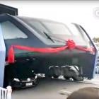 TEB-1: Der chinesische Portalbus fährt zum ersten Mal