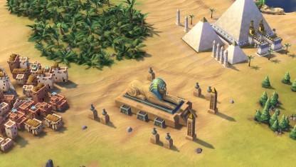 Civilization 6 lässt den Spieler viele Weltwunder bauen.