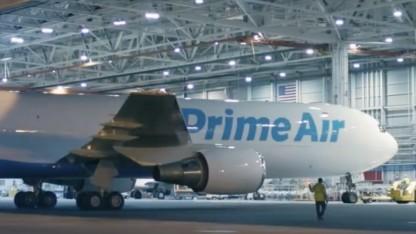 Amazon One ist das erste Flugzeug, das für Amazon in den Einsatz geschickt wird.