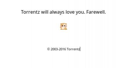 Die Dienste von Torrentz sind nicht mehr verfügbar.