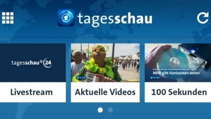 Tagesschau-App: mobile Version des Online-Angebots Tagesschau.de