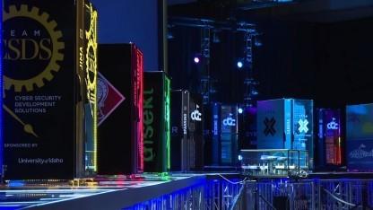 """Die """"Teilnehmer"""" der Cyber Grand Challenge - bei der Def Con traten sie gegeneinander an."""