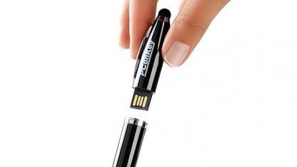 O2 hat seinen Geschäftskunden einen mit Malware infizierten USB-Stift geschickt.
