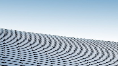Sunstyle-Solarzellen als Dachschindeln