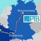Sekunde: Glasfaserstrecke für optische Atomuhr in Deutschland