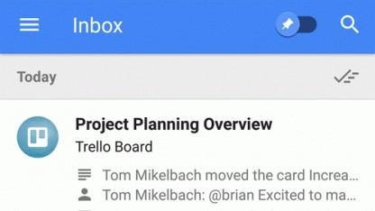 Inbox bietet neue Benachrichtigungsübersichten an.