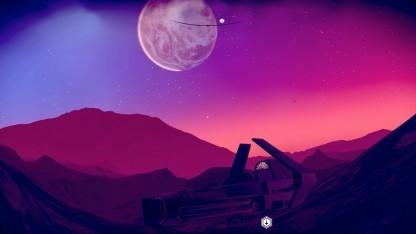 Einer unserer Screenshots aus No Man's Sky