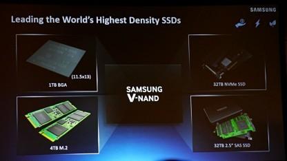 Produkte basierend auf V-NAND v4