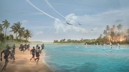 Das Kinoplakat von Rogue One