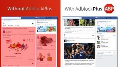 Adblock-Einsatz bei Facebook