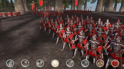 Total War Rome auf dem iPad
