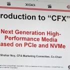 Compact Flash: Neuer CFX-Standard soll 8 GByte pro Sekunde übertragen