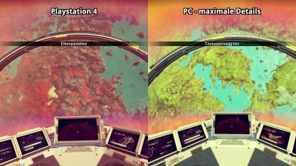 Vergleich PS4 und PC
