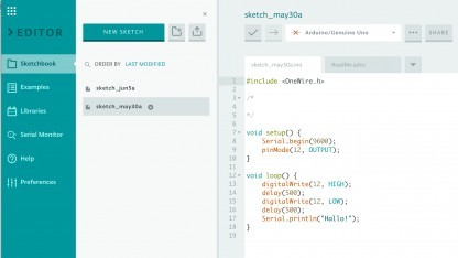 Arduino.cc Online-IDE