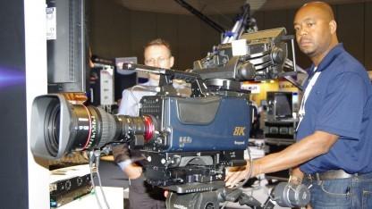 8K-Kamera im Einsatz: Olympische Spiele sind für technische Überraschungen gut.