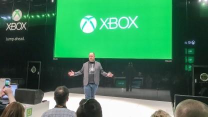 Xbox-Marketingchef Aaron Greenberg auf der Gamescom 2016