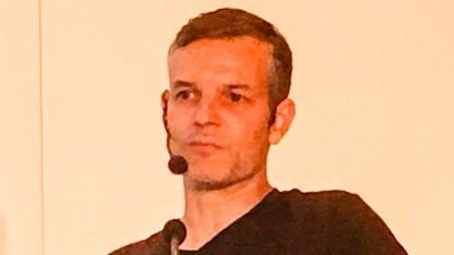 Joost van Dreunen, CEO von Superdata, auf der GDC Europe 2016