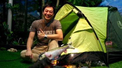 Wir treffen Hajime Tabata auf der Gamescom 2016.
