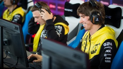 Team Natus Vincere bei der ESL One 2016 in Frankfurt