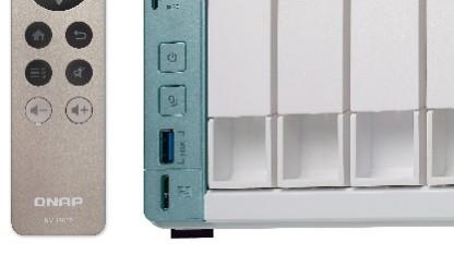 Qnaps neue NAS-Serie arbeitet dank Micro-USB-Anschluss auch als DAS-System.