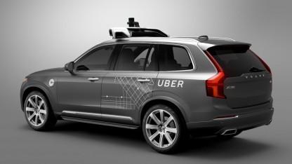Die Lidar-Technik von Ubers autonomen Autos soll von Google geklaut worden sein.
