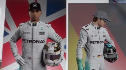Fahrerprofile in F1 2016