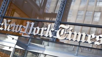 Die New York Times war Opfer einer Hackerattacke.