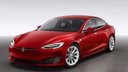 Das Modell S von Tesla hatte Sicherheitslücken in der Software.