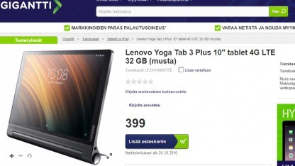 Lenovos Yoga Tab 3 Plus soll bald kommen.
