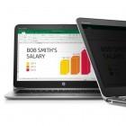 Sichtschutz: HP Sure View gegen seitliche Einblicke auf Notebooks