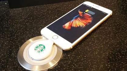 Fluxport bei Starbucks