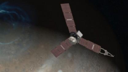 Raumsonde Juno: Die Übertragung der Daten und Bilder dauert eine Weile.