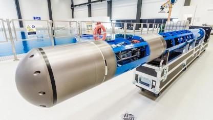 Ice Shuttle Teredo: Kühlschrank gekauft, um Eisblöcke für Tests des Thermalbohrens herzustellen
