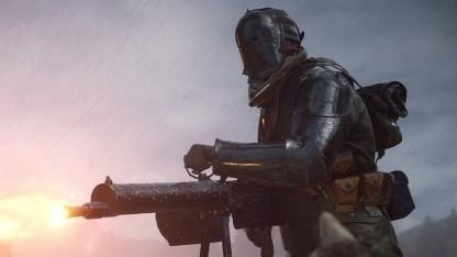 Ein Flammenschütze in Battlefield 1