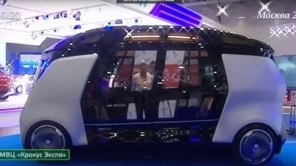 Fahrerloser Bus: Yandex will Systeme für vernetzte Autos auch außerhalb Russlands auf den Markt bringen.