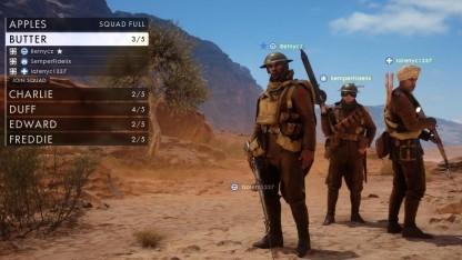 Squad in der Beta von Battlefield 1