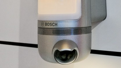 Die neue Außenkamera Eyes mit eingebautem Licht und Gegensprechanlage