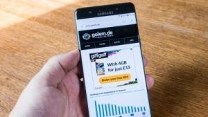 Das neue Galaxy Note 7 von Samsung