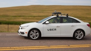 Kartierungfahrzeug von Uber