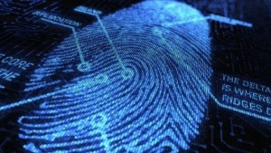 Fingerabdruck im Rechner