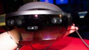 Microsofts AR-Headset Hololens