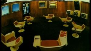 Der Op-Room von Projekt Cybersyn erinnerte an die Brücke von Raumschiff Enterprise.