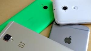 Smartphones großer Hersteller kommen mindestens im Jahresrhythmus heraus.