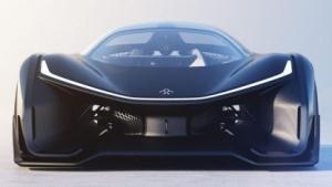 Einsitziges Konzeptfahrzeug FF Zero 01