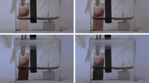 Selbstfärbendes Glas: Zustand ändert sich nur durch Strom.